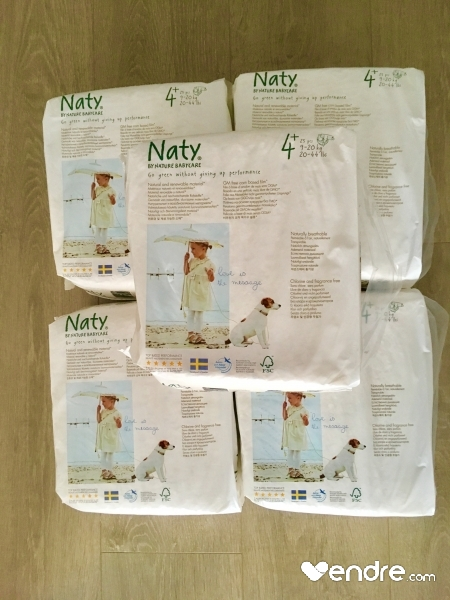 Couches Naty Taille4 9 20kg Vendrecom