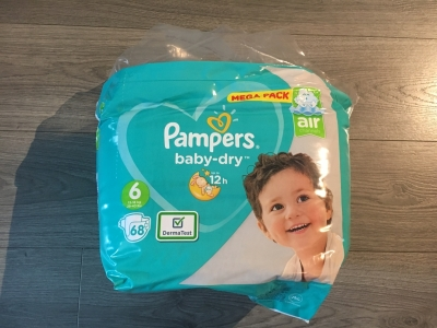 Photo 0 Babydry pampers taille 6