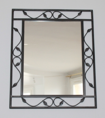 miroir mural en fer forg conforama. Black Bedroom Furniture Sets. Home Design Ideas