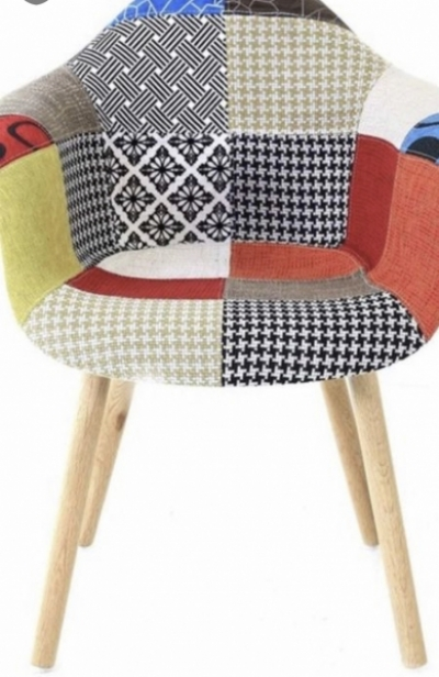 Photo 0 Chaise Fauteuil Patchwork 1